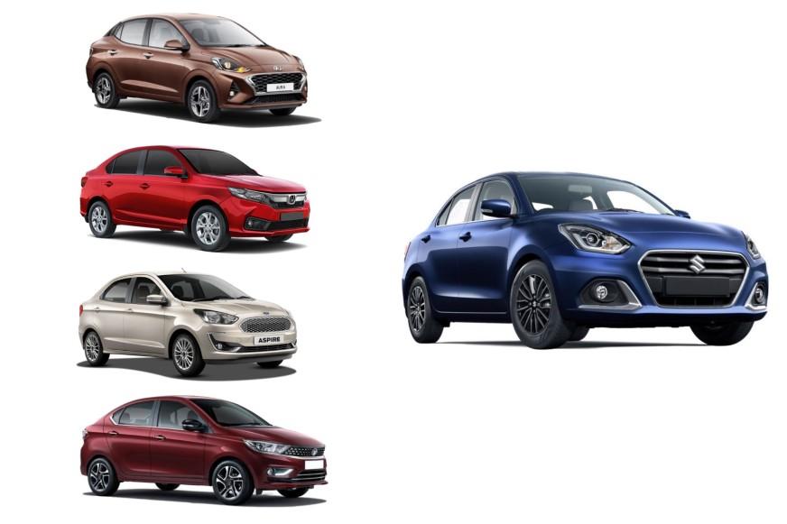2020 Maruti Suzuki Dzire facelift vs rivals: Price, specifications comparison
