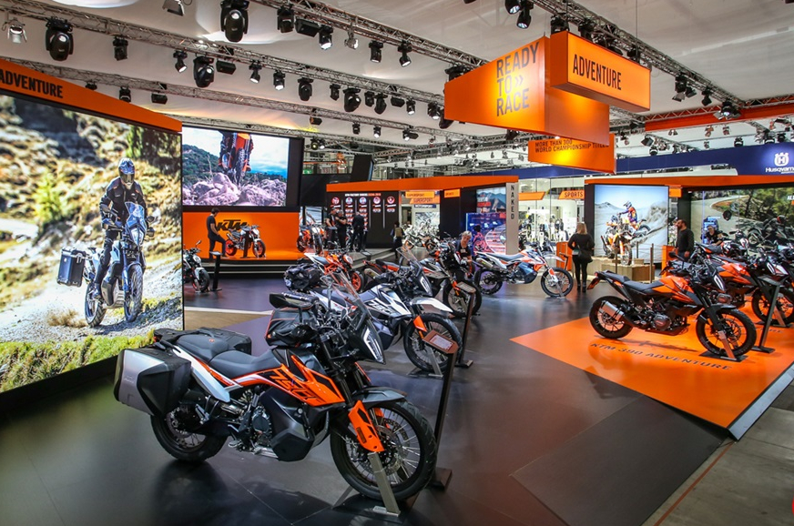 KTM, BMW pull out of EICMA, INTERMOT motorcycle shows