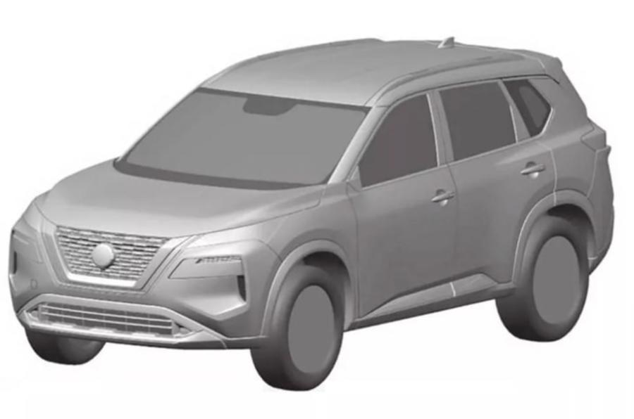 Next-gen Nissan X-Trail previewed in design patents