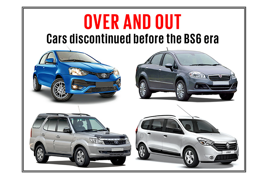 Listed: All the cars and SUVs discontinued in the BS6 era