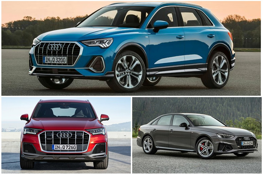 Audi A4, Q5, Q7 facelifts, new Q3 to lead India range revamp