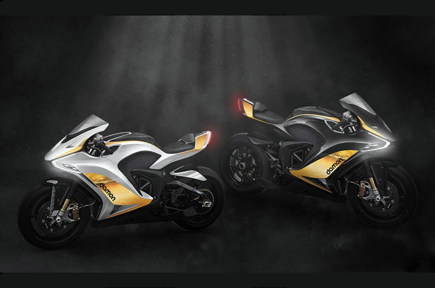 Damon Electric motorcycles unveils two new Hypersport models