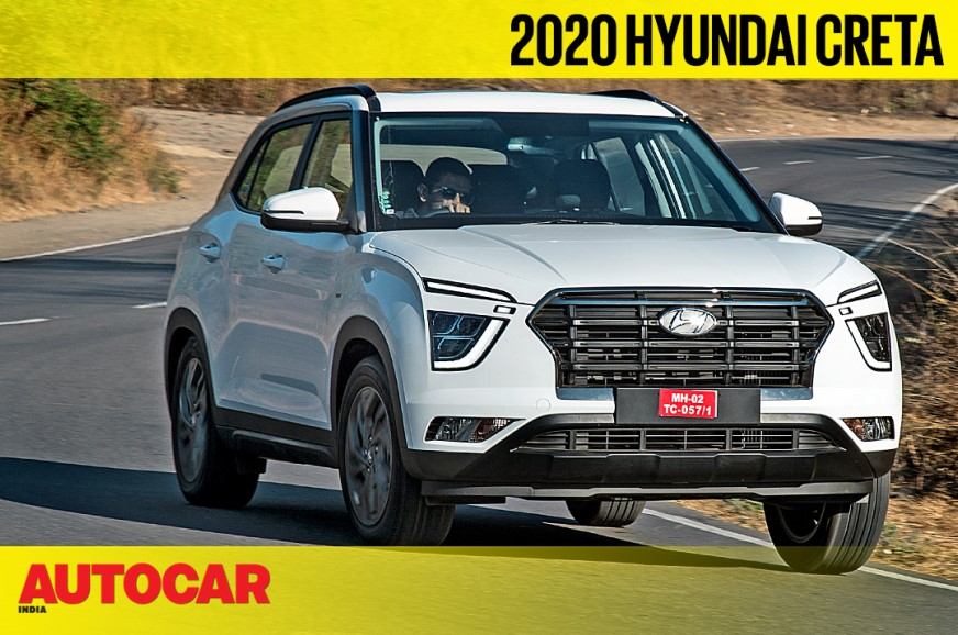 2020 Hyundai Creta 1.4 T-GDi DCT video review