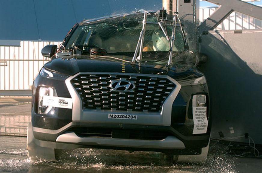 Hyundai Palisade receives 5-star crash test rating from NHTSA