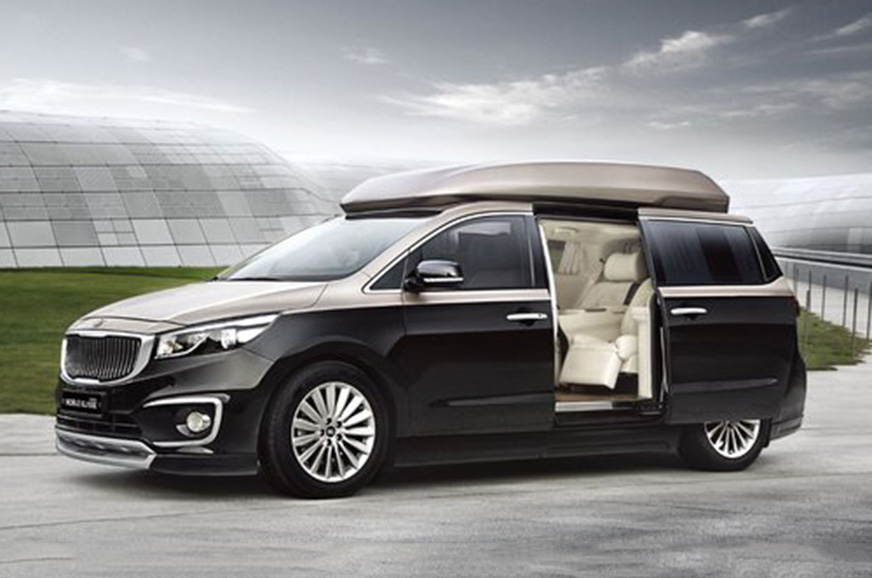 Next-gen Kia Carnival to get a 4-seater option