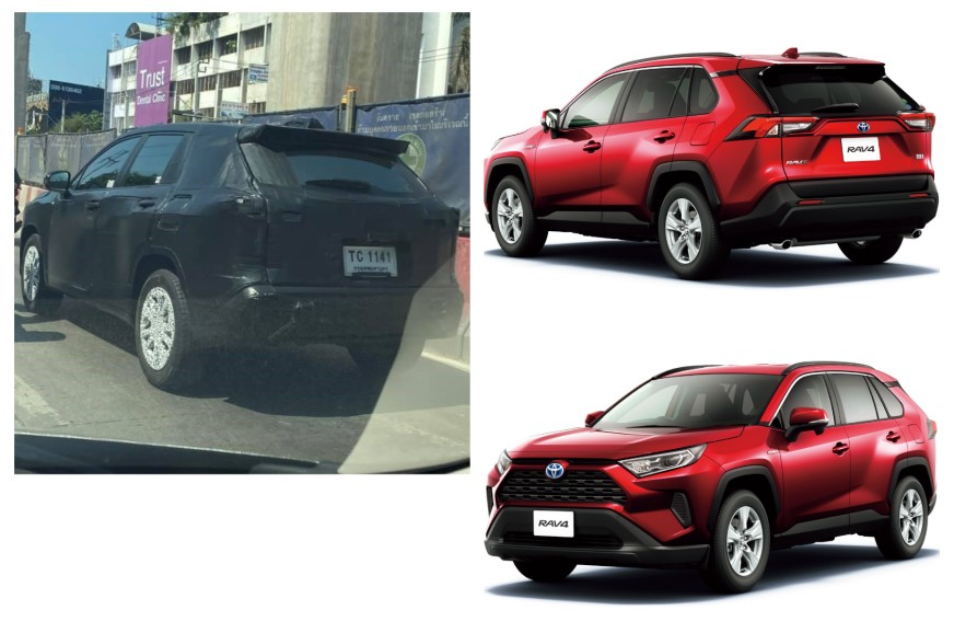 Toyota RAV4-based Corolla Cross SUV takes shape