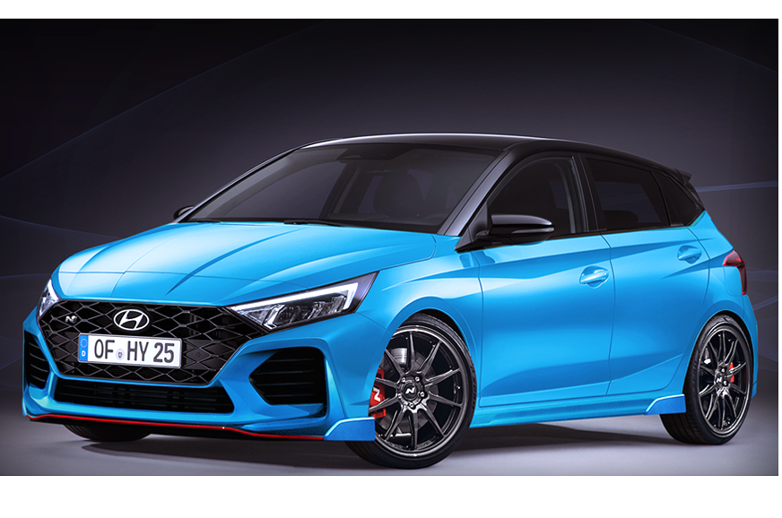 Hyundai i20 N likely to come with a 204hp engine