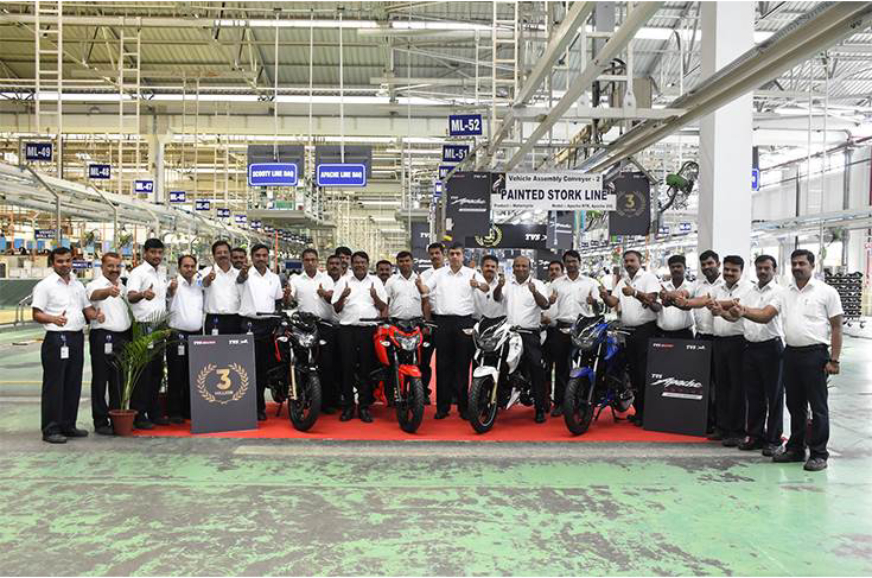 TVS Motor Company resumes operations