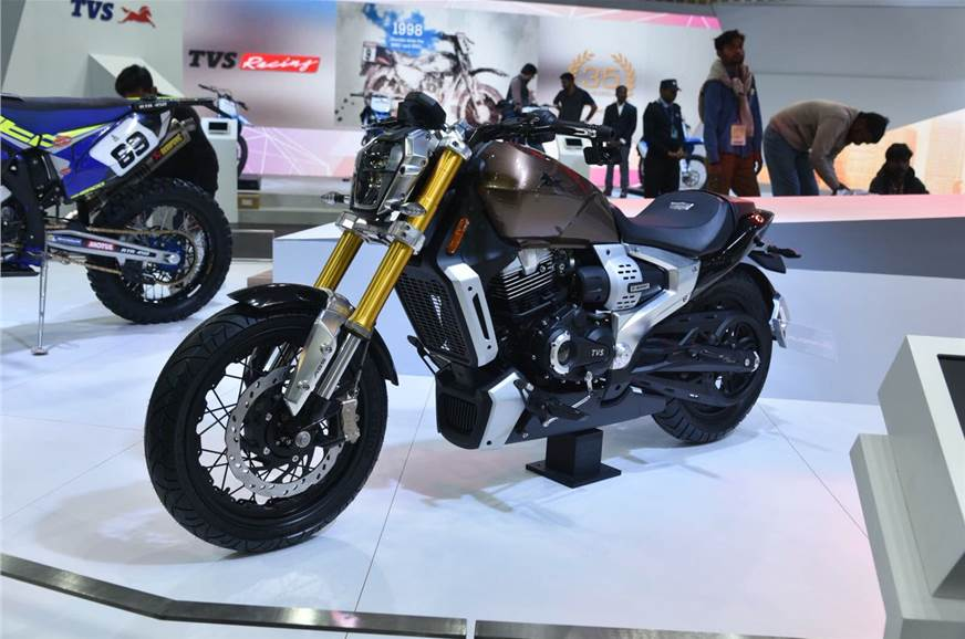 TVS registers 'Ronin' product name