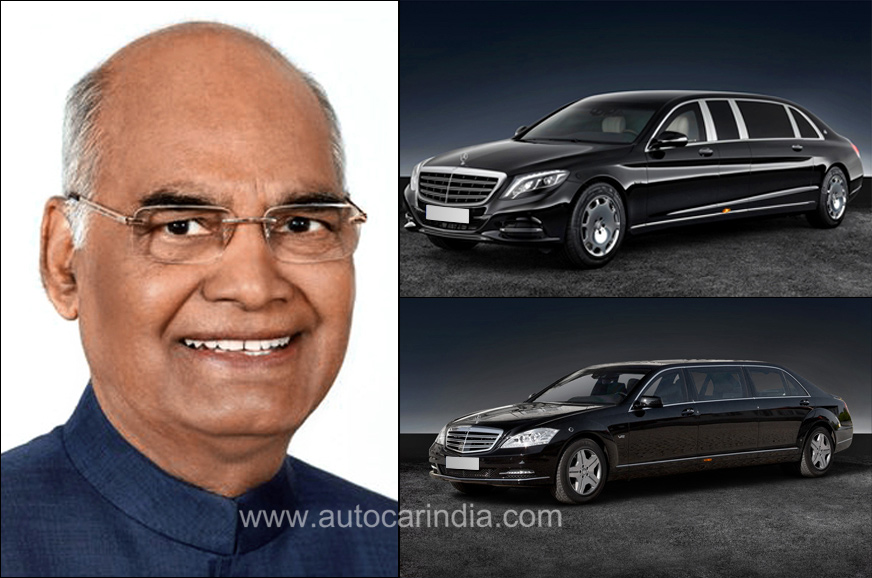 President Kovind's Mercedes-Benz S 600 Pullman Guard to continue in service