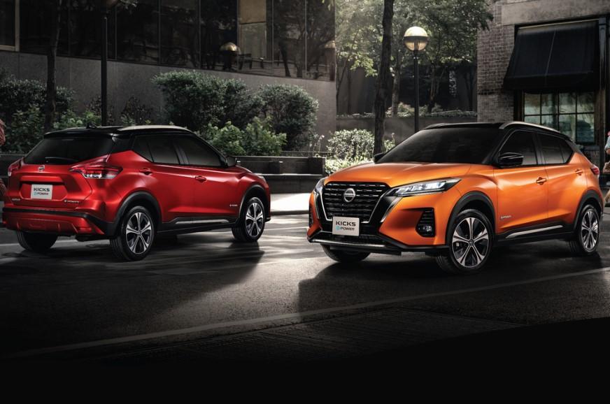 Nissan Kicks facelift with e-Power tech revealed
