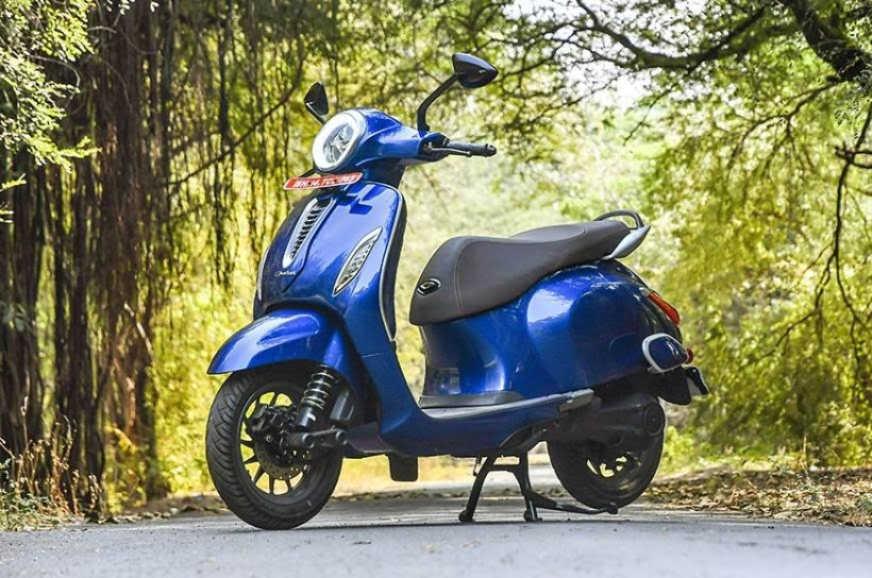 Bajaj Chetak design patent registered in Europe