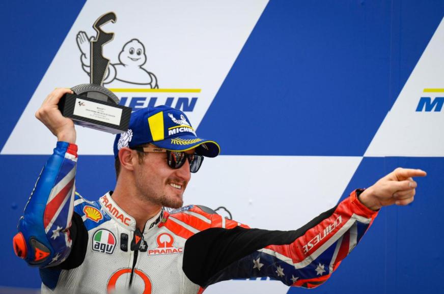 Ducati MotoGP team signs Jack Miller for 2021