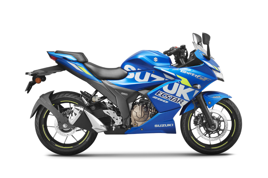 BS6 Suzuki Gixxer 250, SF 250 launched from Rs 1.63 lakh