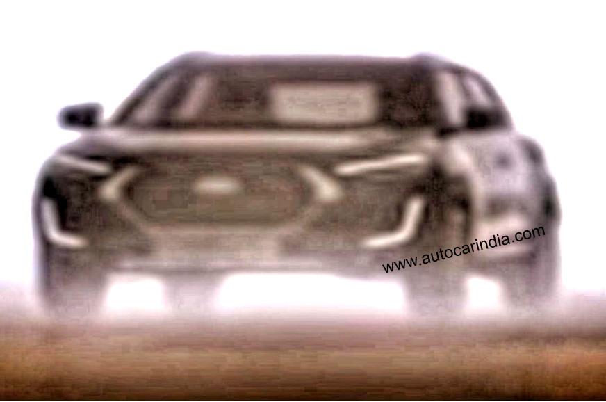 Nissan Magnite compact SUV teaser shows fresh design details