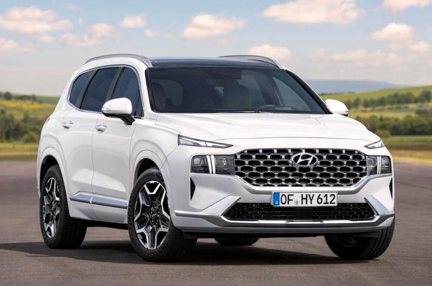 2020 Hyundai Santa Fe Unveiled Autocar India