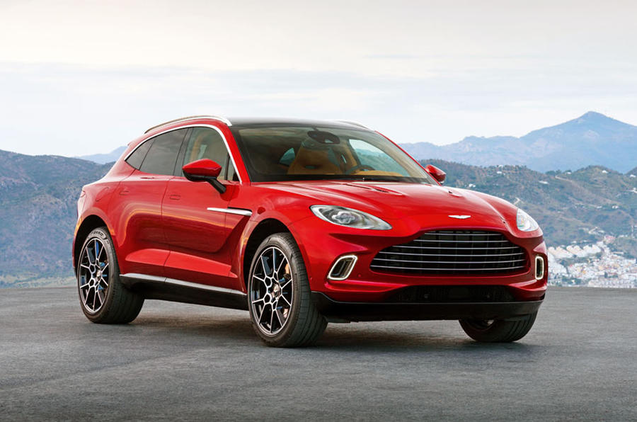 Aston Martin DBX could spawn 7-seat, Coupe derivatives