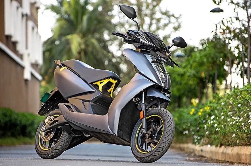 Ather to launch exchange programme for ICE two-wheelers