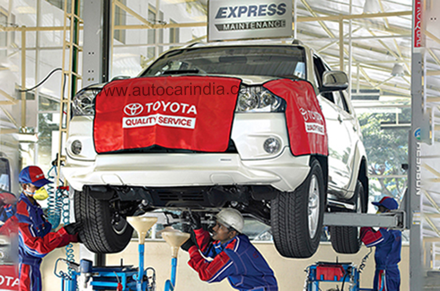 Toyota Kirloskar introduces new service features