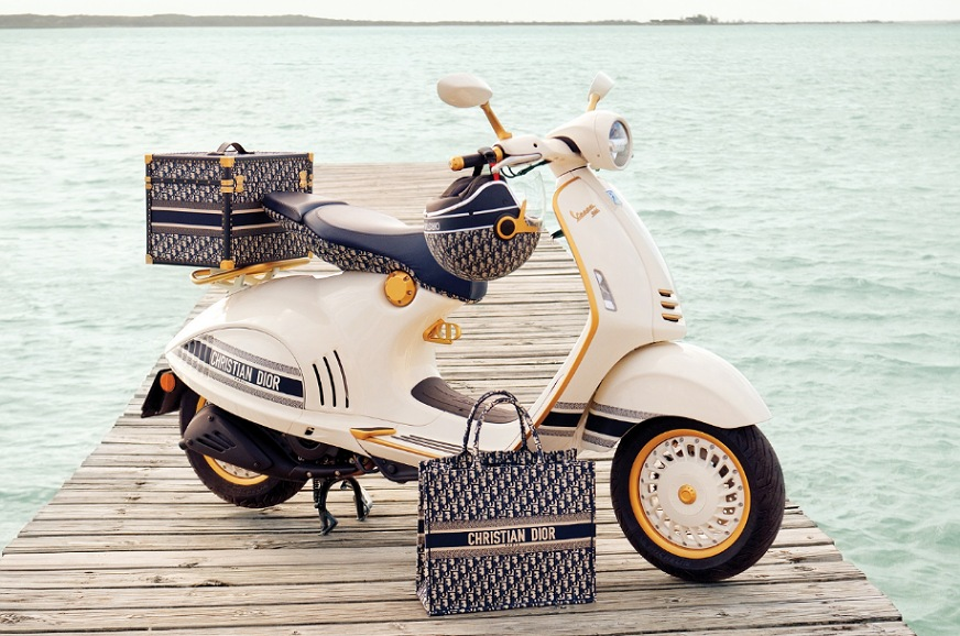 Vespa 946 Christian Dior edition breaks cover