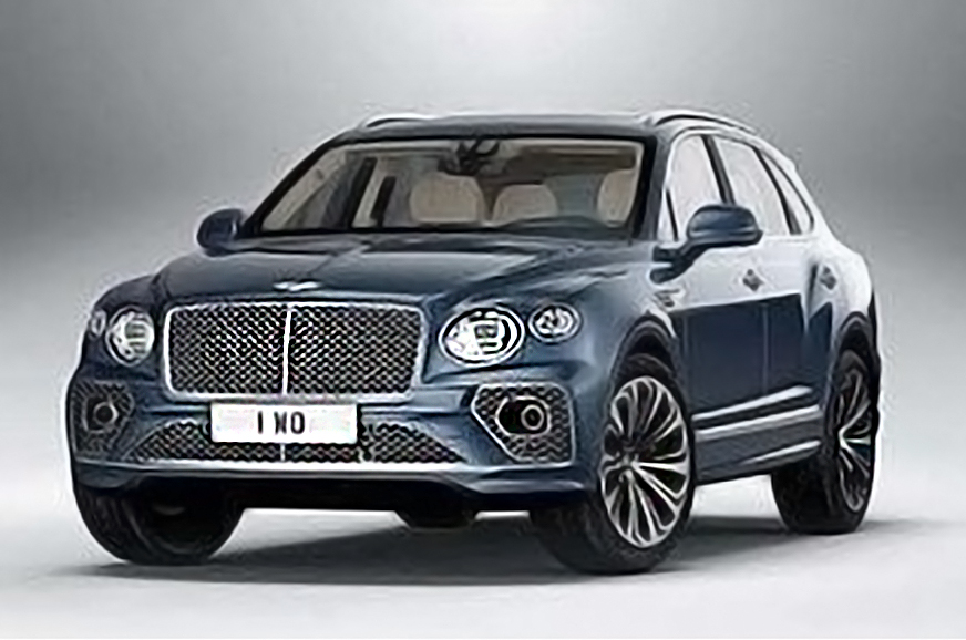 Bentley Bentayga facelift images surface online