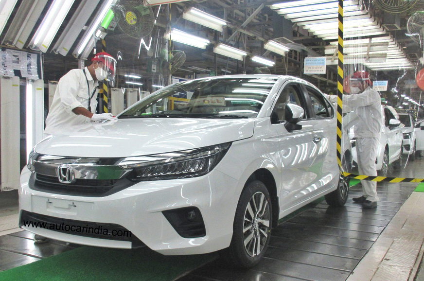New Honda City production begins ahead of July launch