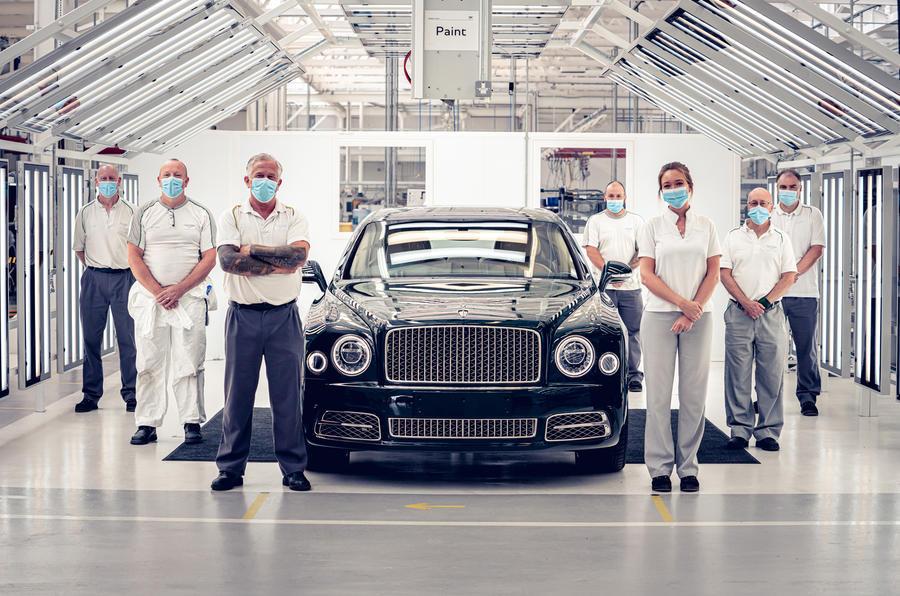 Last Bentley Mulsanne rolls off the production line