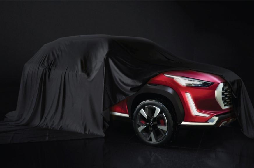 Nissan Magnite teased ahead of July 16 reveal