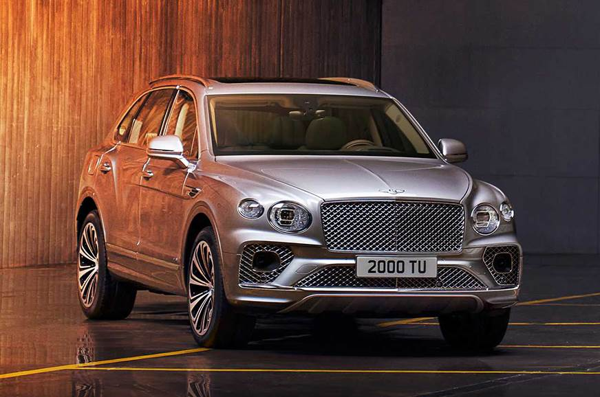 Bentley Bentayga facelift breaks cover