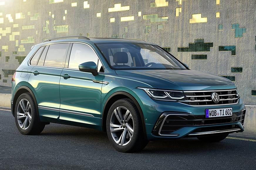 2021 volkswagen tiguan facelift revealed  autocar india