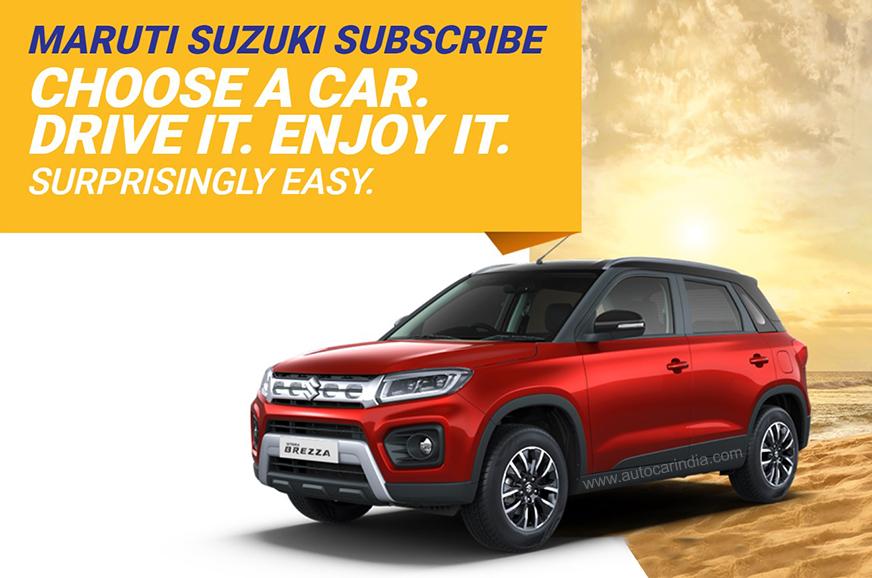 Maruti Suzuki Subscribe car leasing introduced