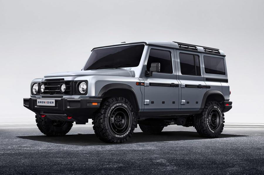Ineos Grenadier SUV revealed