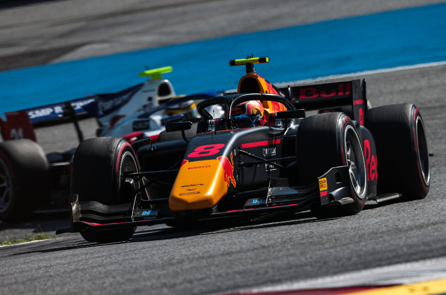 Austrian GP: Daruvala completes debut F2 race in 12th place