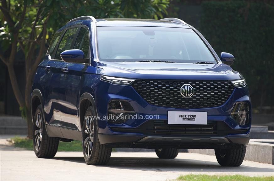 MG Hector Plus bookings open, variants revealed