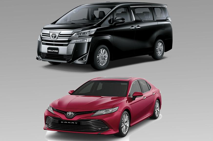 Toyota Camry Hybrid, Vellfire prices hiked