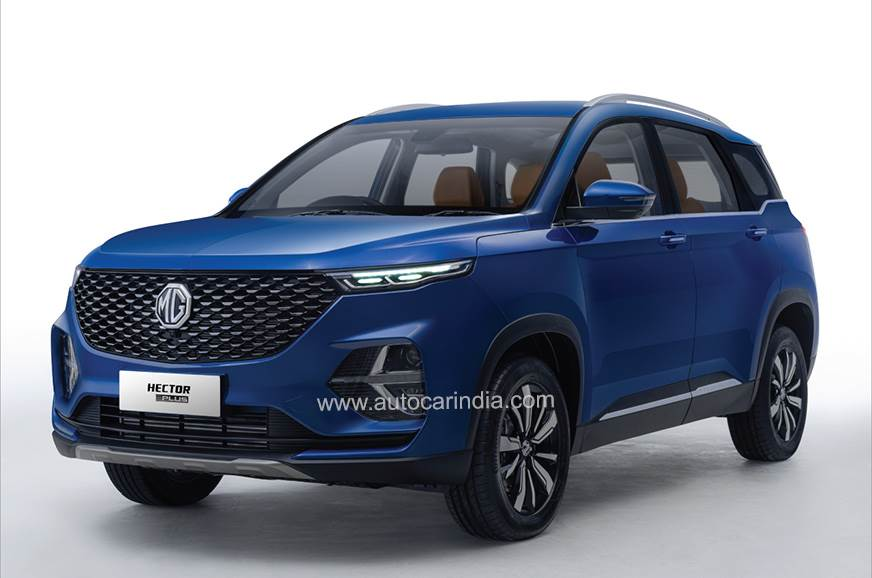 MG Hector Plus launch on July 13