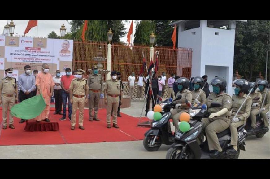 Hero MotoCorp provides 100 scooters to Uttar Pradesh police
