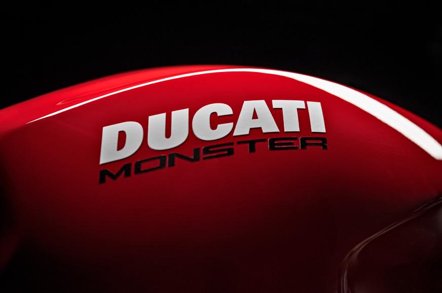 2021 Ducati Monster spied testing