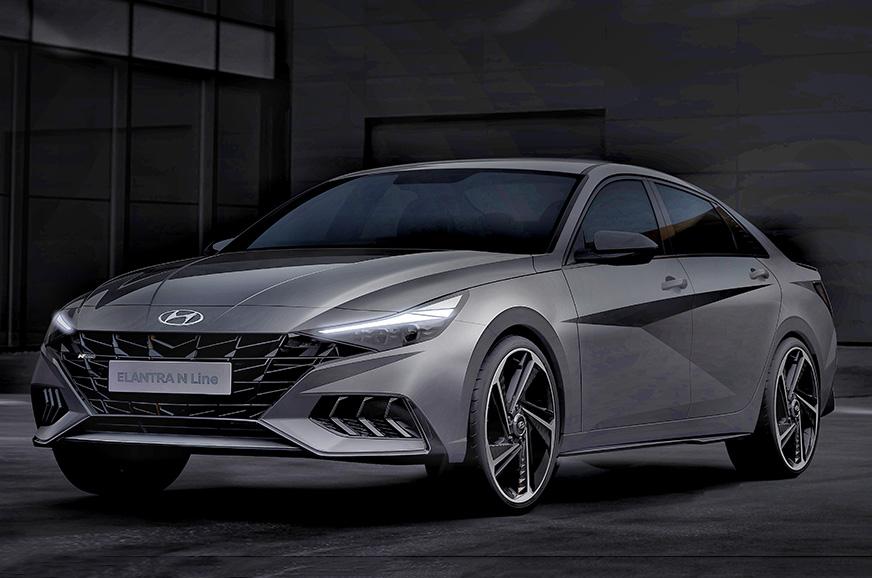 2021 Hyundai Elantra N Line previewed in official renders