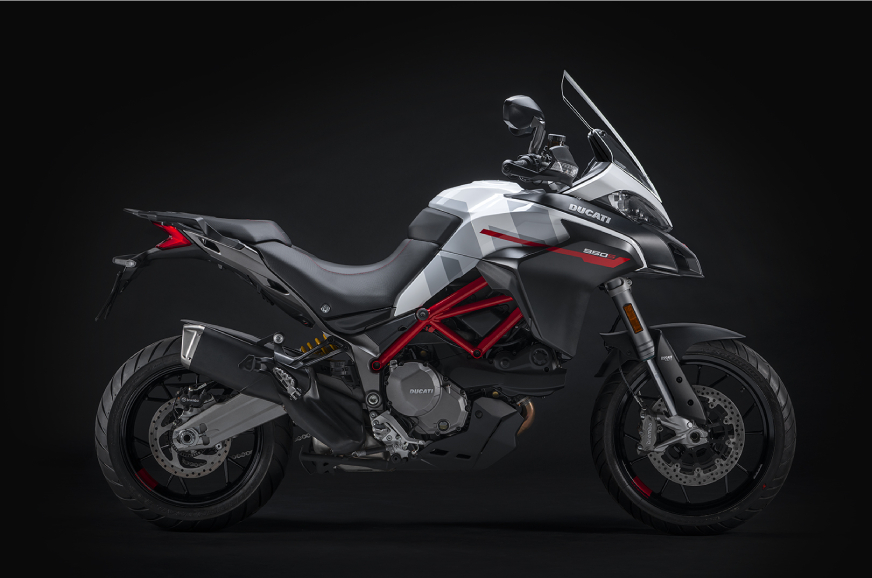 Ducati Multistrada 950 S gets new GP White colour scheme