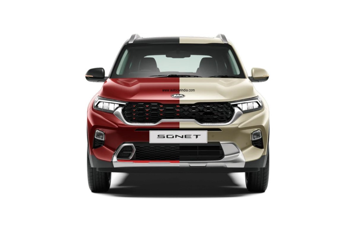 Kia Sonet Gt Vs Tech Lines Features Styling Differences Explained Autocar India