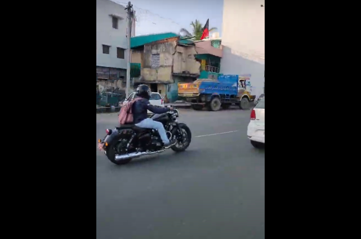New Royal Enfield Cruiser Motorcycle Spied Autocar India