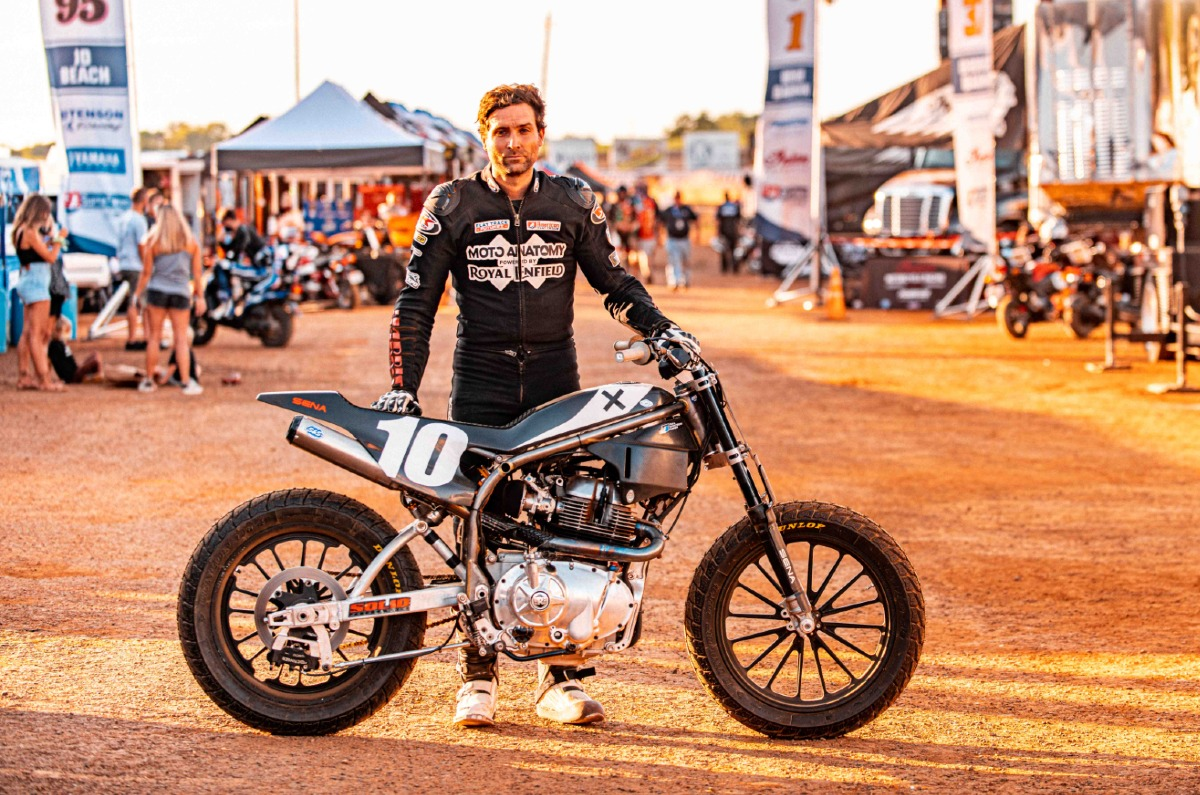 Royal Enfield debuts at American Flat Track competition