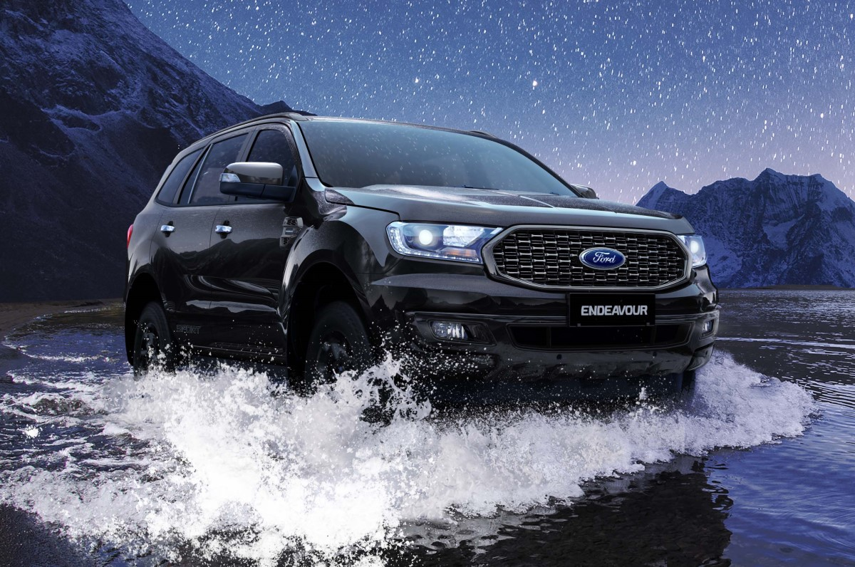 Ford Endeavour Sport Price From Rs 35 10 Lakh Autocar India