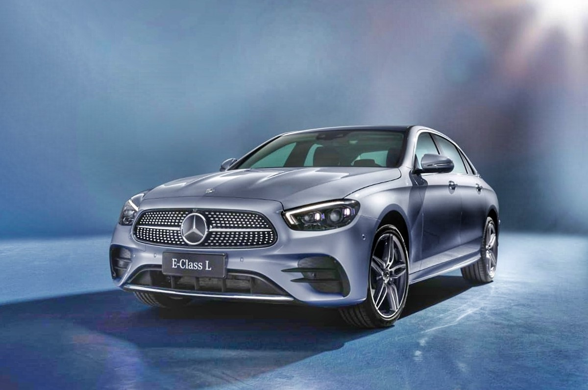 India-bound Mercedes E class 2021 facelift revealed ...