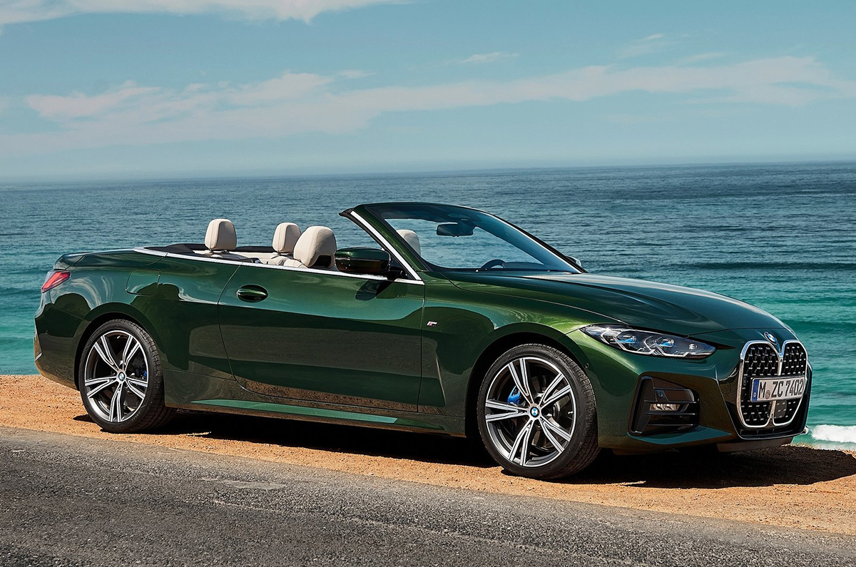 2021 Bmw 4 Series Convertible Revealed Autocar India