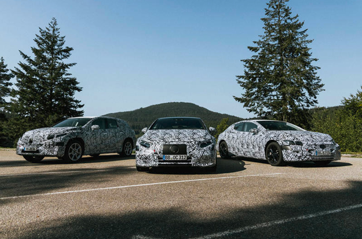 20201007054811 Mercedes EQ range Mercedes confirms new EQE sedan, EQE SUV and EQS SUV