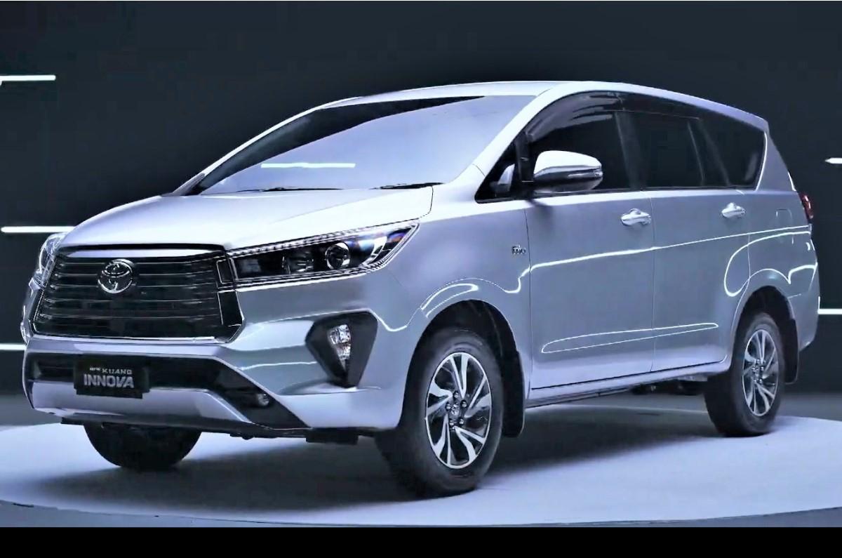 2021 Toyota Innova Crysta Facelift Revealed Autocar India