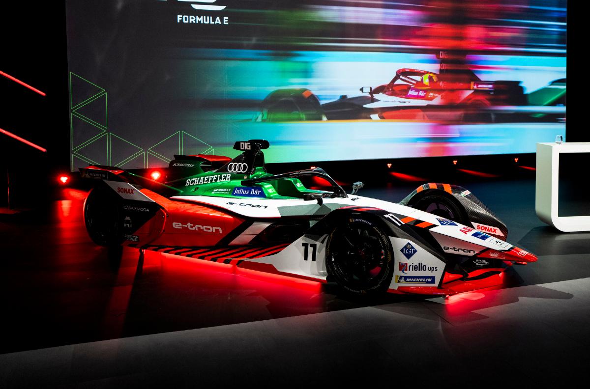 audi e-tron fe07 revealed for 2021 formula e season