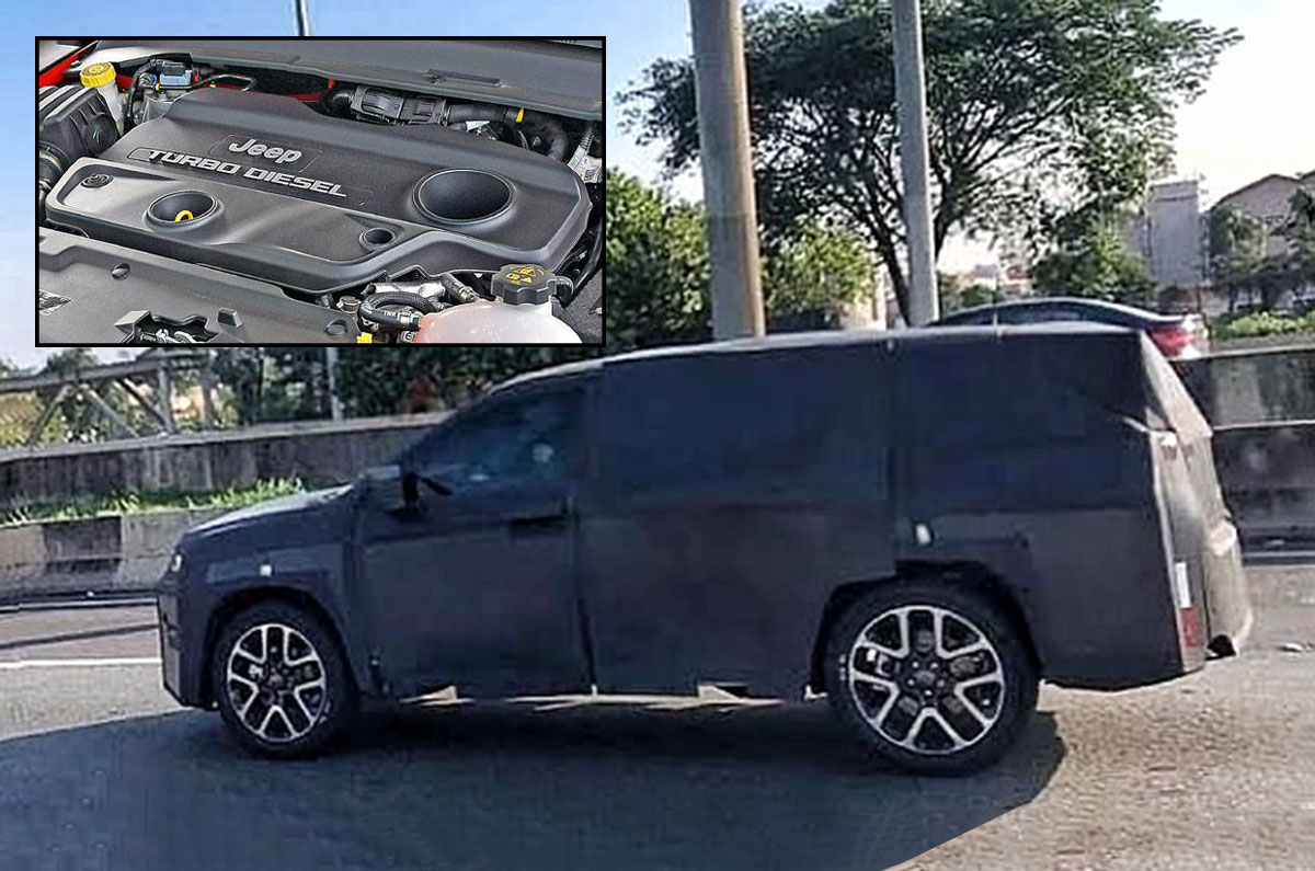 New Jeep Compass 7 Seater To Get More Powerful Diesel Engine Autocar India